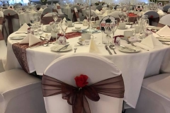 Chair - covers- sashes-rose-organza-satin-taffetta-lace-bows-crystal