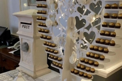 sweets_candy_ ferrero_rocher_heart_sweet_table_post_box_lanterns_wedding