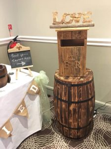 rustic-post-box-barrel-love-wedding