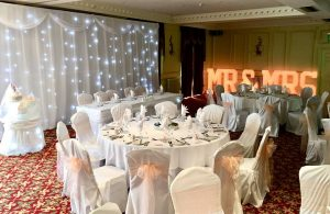 twinkling-led-backdrop-cake-skirt-wedding-breakfast-mr-and-mrs-4Ft-letters-top-table-skirt