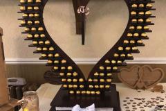 Rustic-ferrero-Rocher-heart-sweets