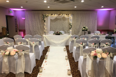 wedding-arch-uplighting-plynths-romantic-sweet-heart-table