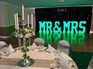 mr_mrs_letters_4ft_led_black_backdrop_twinkling_Star_curtain